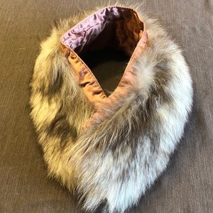 Vintage Estate Real Fur Collar